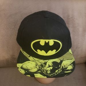 Batman DC Comics Snapback Baseball Hat Flat Bill